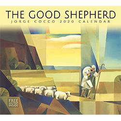 2020 Jorge Cocco Calendar - The Good Shepherd jorge cocco art, jorge cocco wall calendar, lds wall calendar, christ calendar, religious calendar