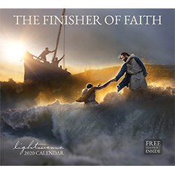 2020 Lightweave Calendar - The Finisher of Faith