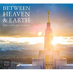 2020 Scott Jarvie Calendar - Between Heaven & Earth Scott jarvie art, scott jarvie wall calendar, lds wall calendar, christ calendar, religious calendar
