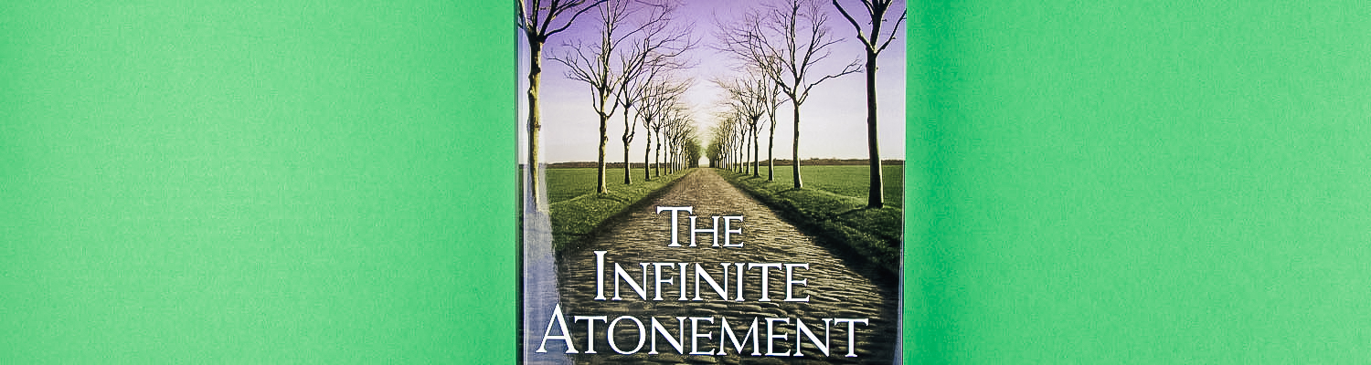 banner for jesus christ category that has the book the infinite atonement thats an lds book about jesus christ