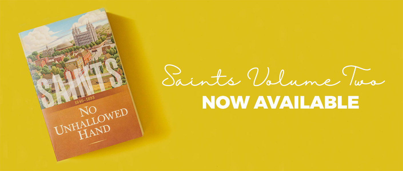 Saints Volume 2: No Unhallowed Hand Now Available