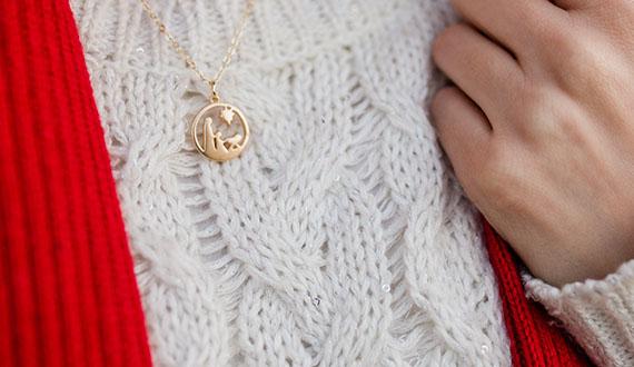 Nativity Charm Necklace