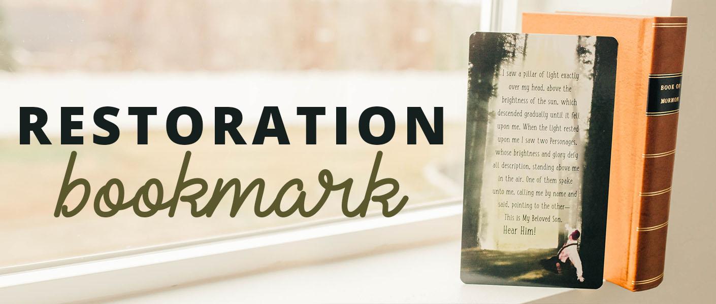 Gospel Restoration Bookmark