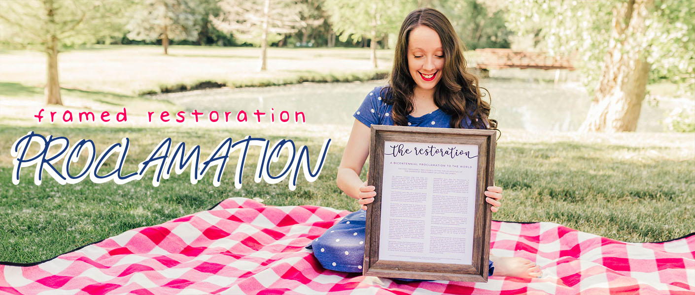 Framed Restoration Proclamation