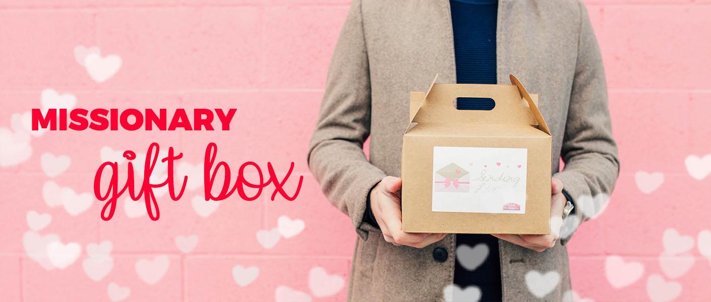 Valentine's Day Missionary Gift Box