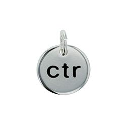 CTR Circle Charm