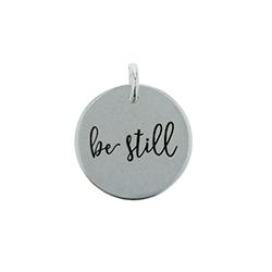 Be Still Charm be still charm, be still bracelet charm,