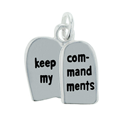 Keep My Commandments Charm keep my commandments charm, charm bracelet