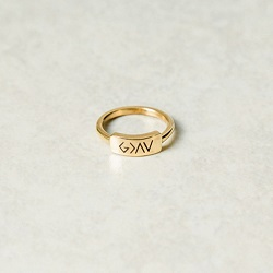 God is Greater Than the Highs and Lows Bar Ring god is greater ring, engraved ring, personalized ring, customized ring, stainless steel ring