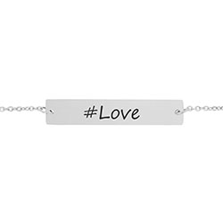 #Love Bar Bracelet - LDP-HBB0536