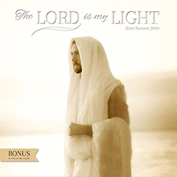 2020 Scott Sumner Calendar - The Lord is My Light scott sumner art, scott sumner wall calendar, lds wall calendar, christ calendar, religious calendar