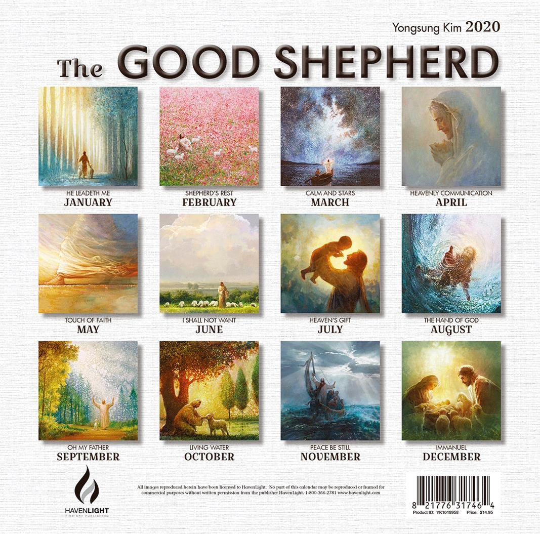 2020 Yongsung Kim Calendar - The Good Shephard - HL-YK1018958