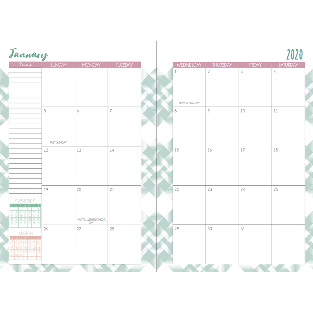 2020 Mothers Who Know Planner - Abound - ITLT-MWK2020-Abound