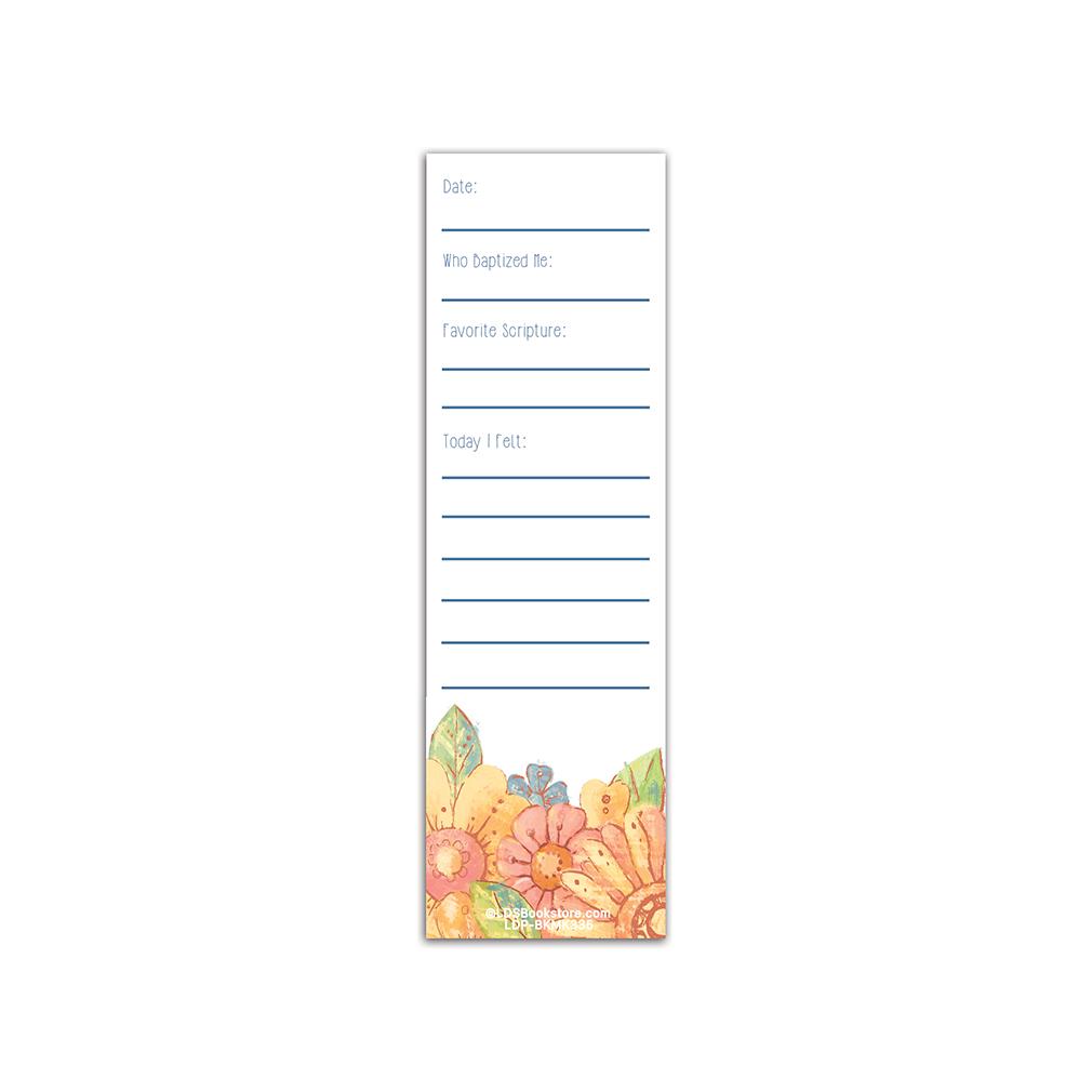 Girl's Baptismal Covenant Bookmark - LDP-BKMK335