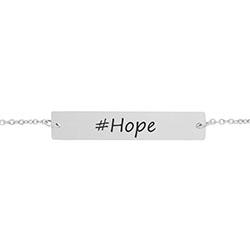 #Hope Bar Bracelet