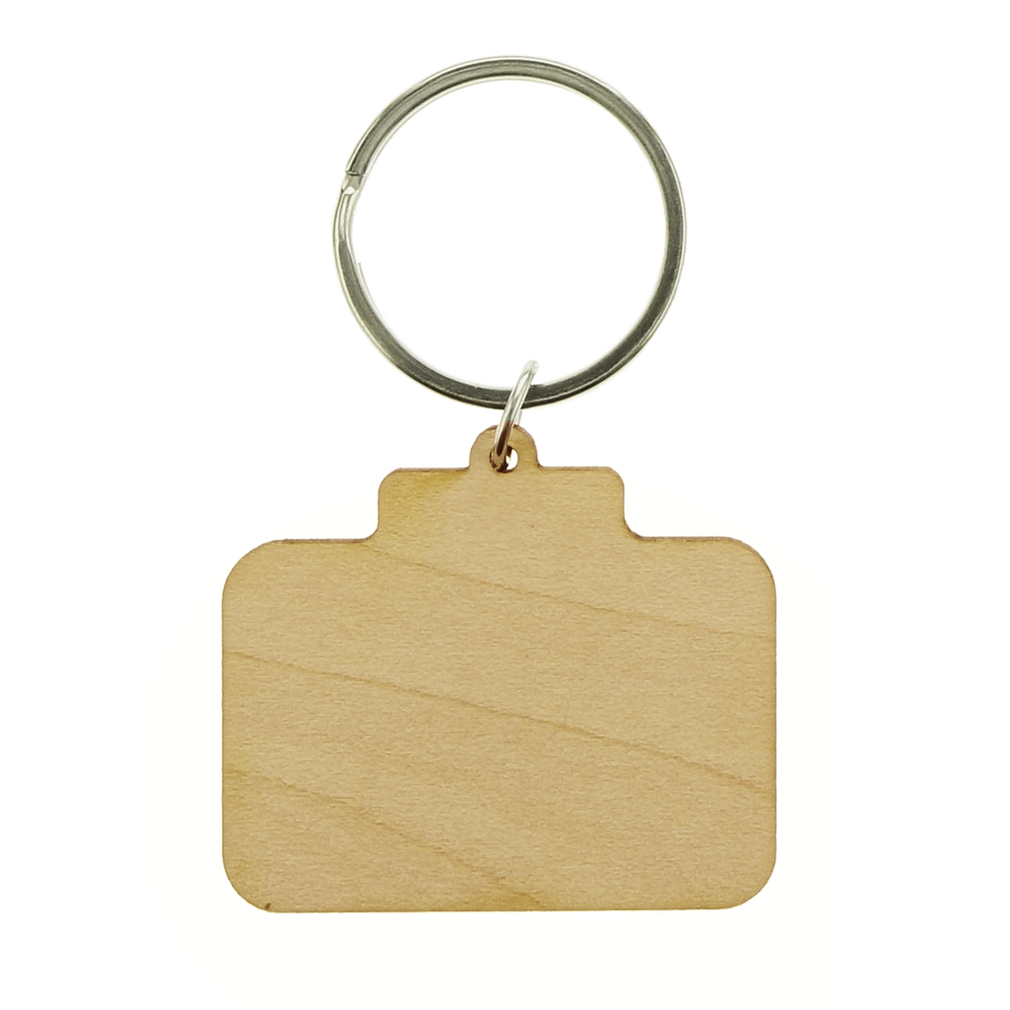 Called to Serve Wood Keychain  - LDP-KC-CTS-WOOD