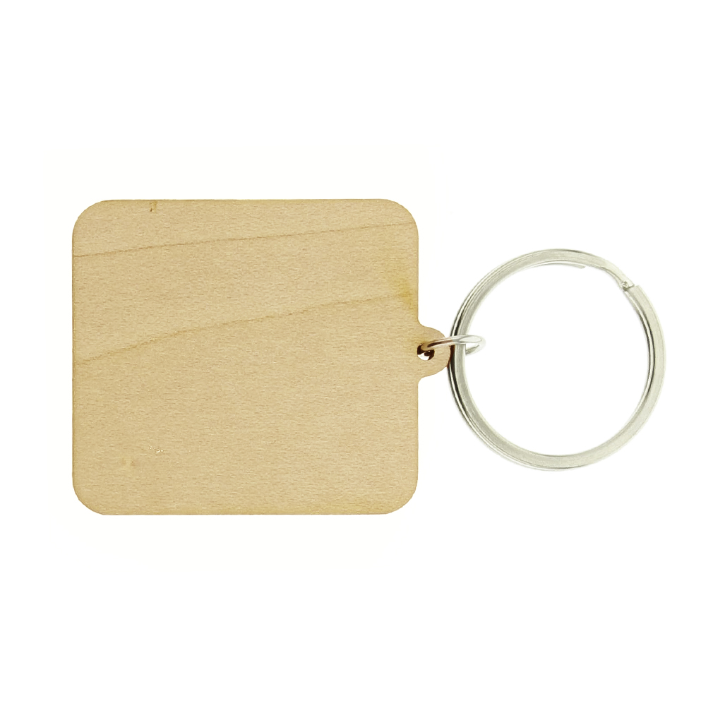 Prayer is the Key Wood Keychain - LDP-KC-PRAYKEY-WOOD