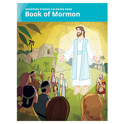 Scripture Stories Coloring Book: Book of Mormon lds coloring book, book of mormon coloring book, scripture stories coloring book