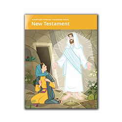Scripture Stories Coloring Book: New Testament lds coloring book, new testament coloring book, scripture stories coloring book