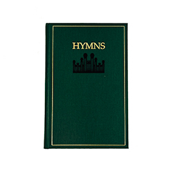 Misimprinted LDS Hymn Book
