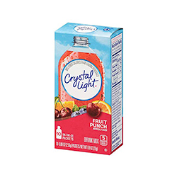 Crystal Light Fruit Punch - 10 packets