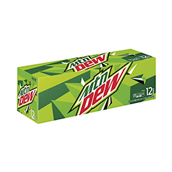 12 oz. Mountain Dew - 12 Pack