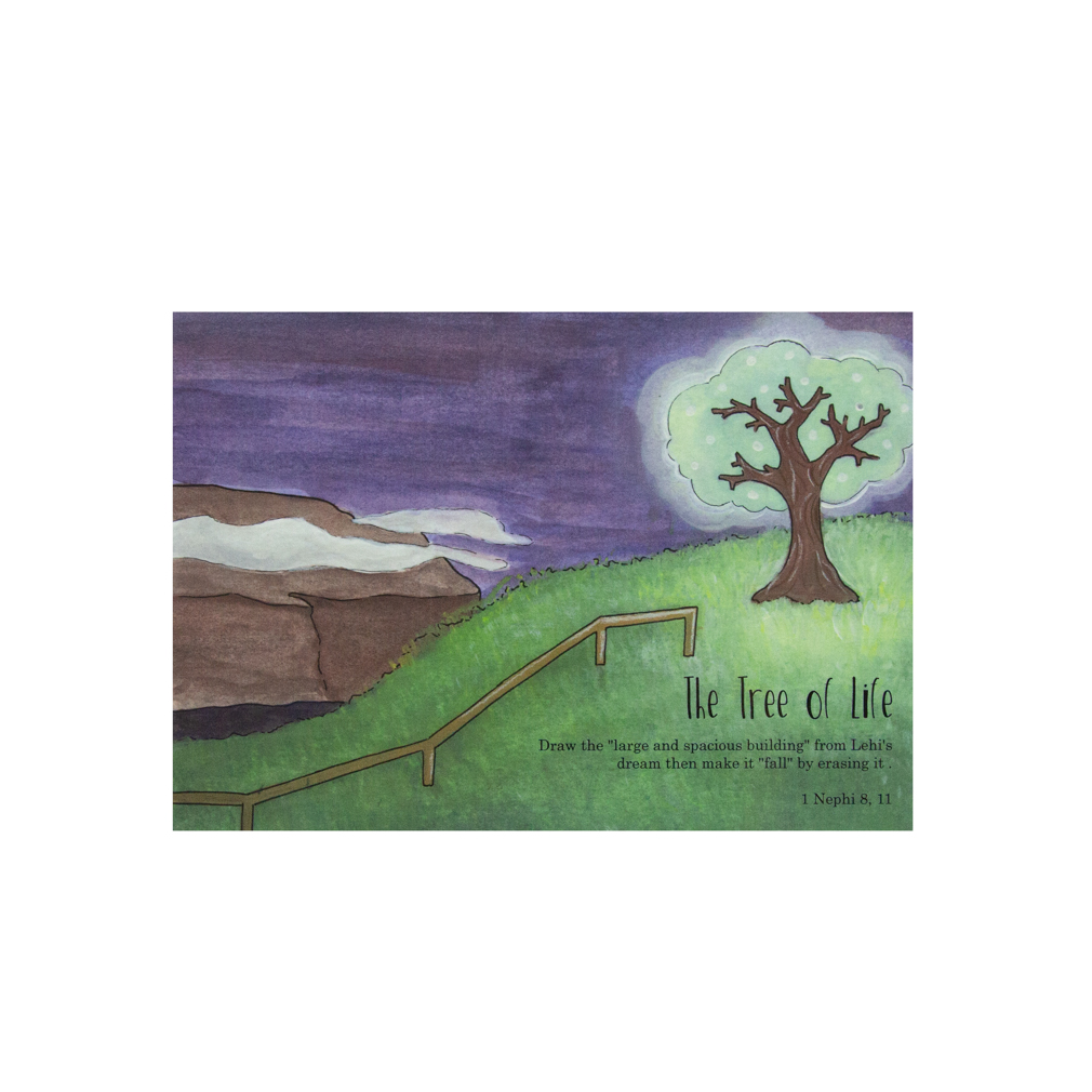 The Book of Mormon Dry Erase Activity Cards - DZS-769812669699