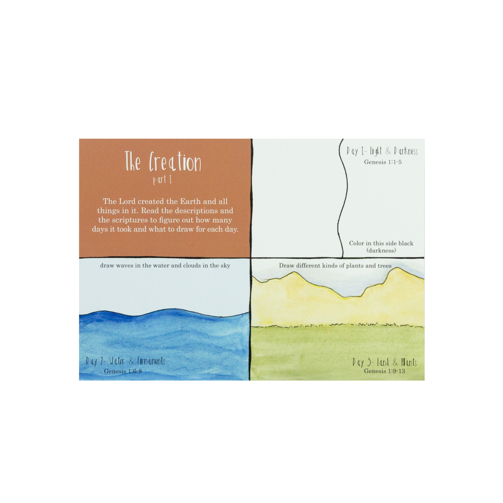The Old Testament Dry Erase Activity Cards - DZS-769812669675