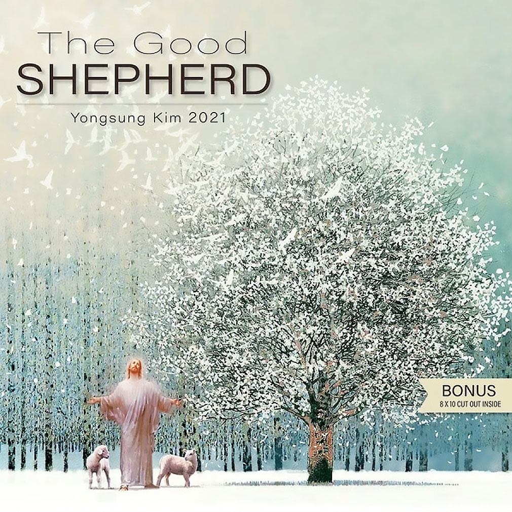2021 The Good Shepherd Yongsung Kim Calendar 2021 the good shepherd yongsung kim calendar,2021 calendar,yongsung kim