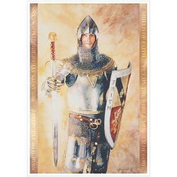 Armour of God - Print armour of god print, armor of god print, armour of god art, armour of god bookmark