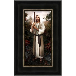 Great Redeemer by Brent Borup - Framed 10x16 lds gifts, lds framed art, pictures of christ,brent borup