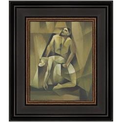 The Descent - Framed lds gifts, lds framed art, pictures of christ,lds art,lds christ art,lds jesus christ,jorge cocco