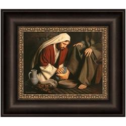In Humility - Framed in humility,in humility lds,simon dewey,in humility simon dewey,simon dewey lds art,lds simon dewey,simon dewey jesus christ,lds,lds gifts,lds artwork,lds art,latter day saint art,latter day saint artwork,lds wall art,lds gifts art