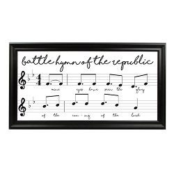 Battle Hymn of the Republic Framed Hymn Art - LDP-FR-ART-HYMN-BHOTR
