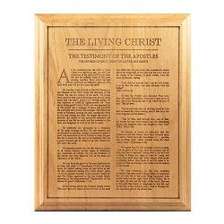 Living Christ Wood Plaque living christ wood plaque