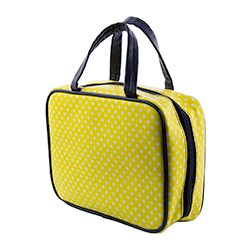 Yellow Polka Dot Scripture Case lds scripture cases, lds scripture totes, lds scripture case, lds scripture tote,yellow scripture case