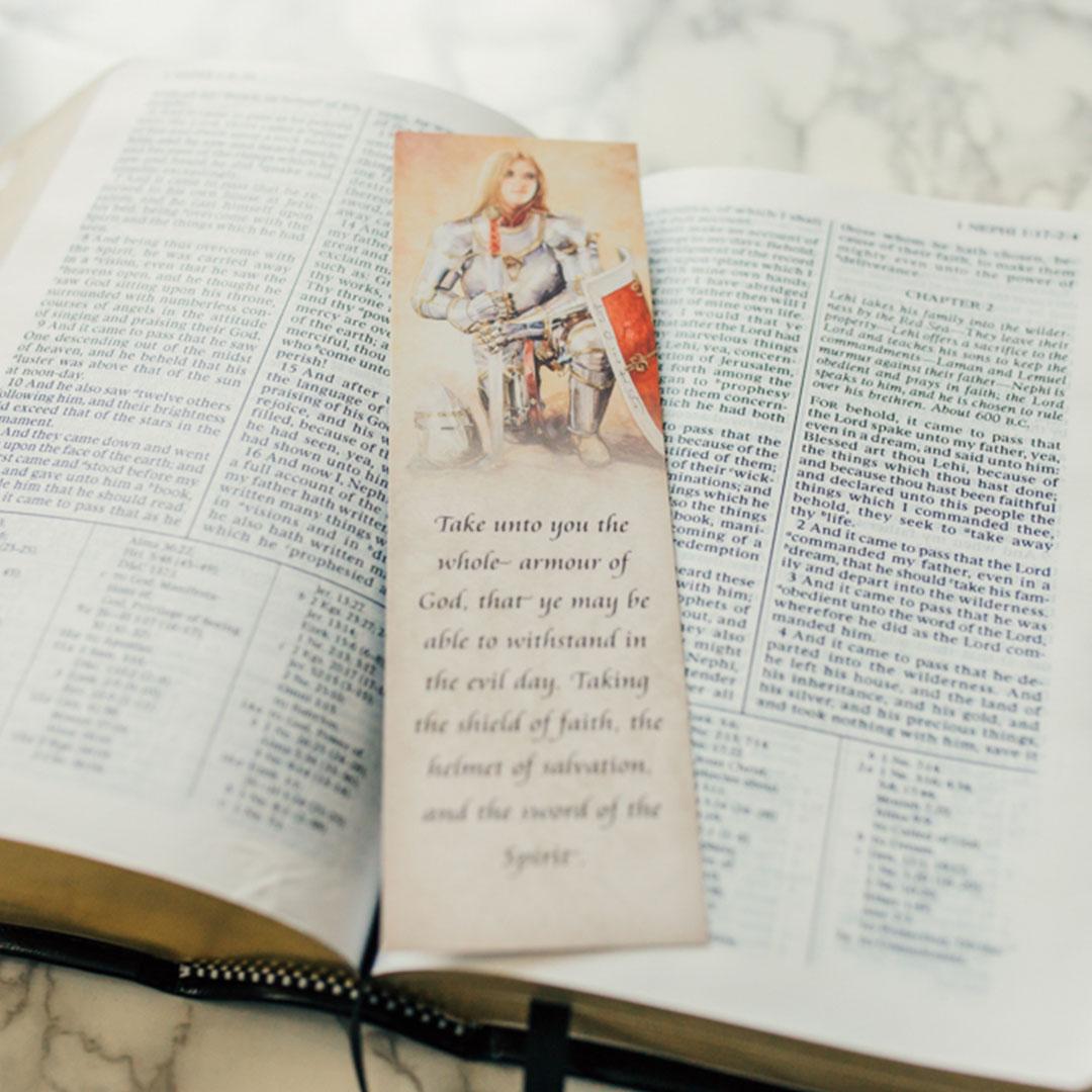 Shield of Faith Bookmark - AFA-U101BMP1