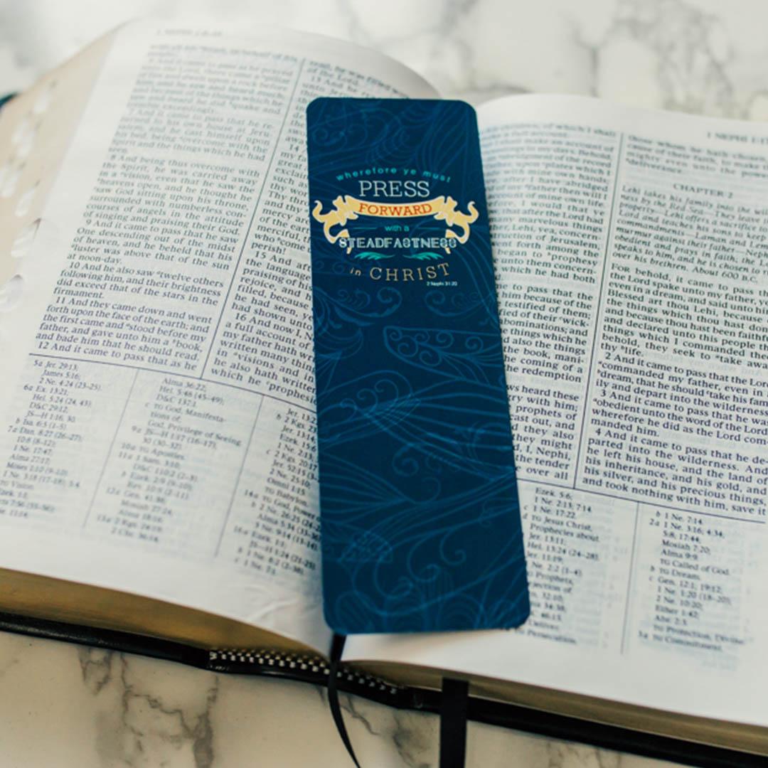 Press Forward Bookmark - LDP-2016YTBKMK
