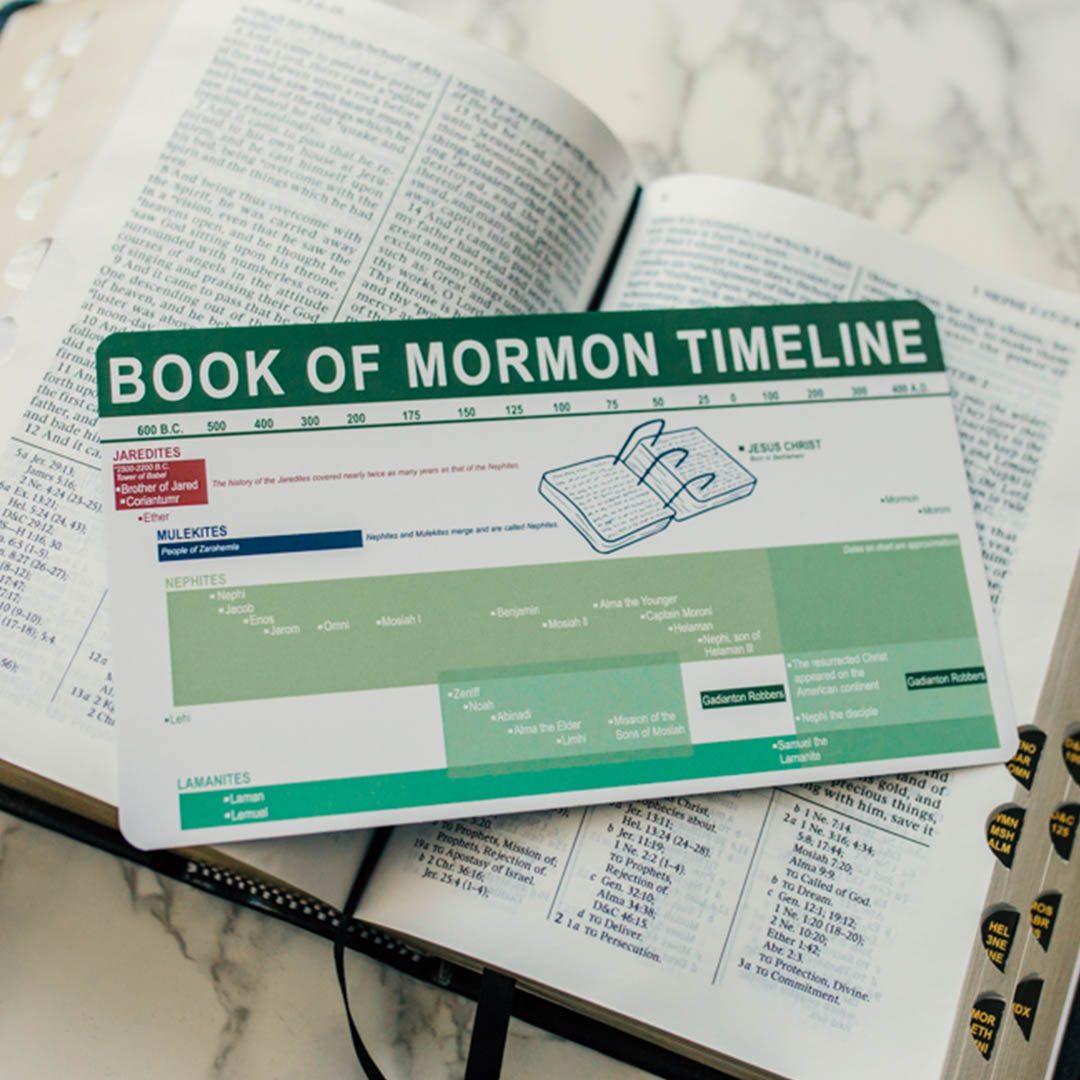 Book of Mormon Timeline Bookmark - LDP-BKMK331