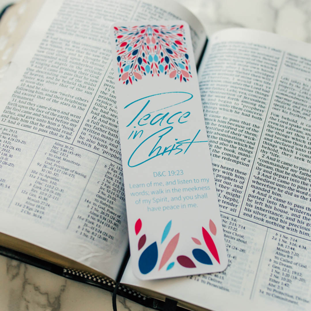 Peace in Christ Bookmark - LDP-BKMK332