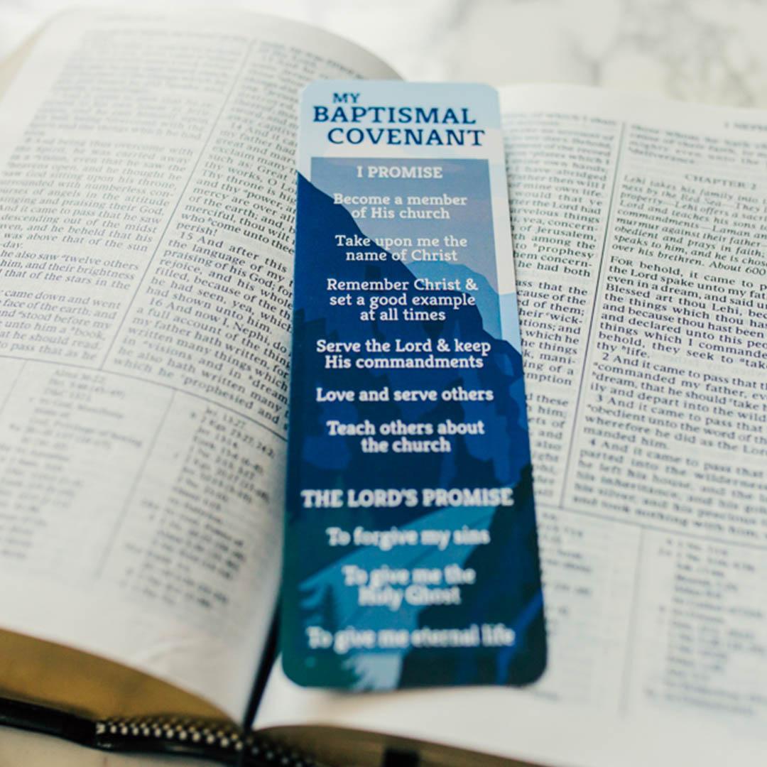 Boy's Baptismal Covenant Bookmark - LDP-BKMKBBC