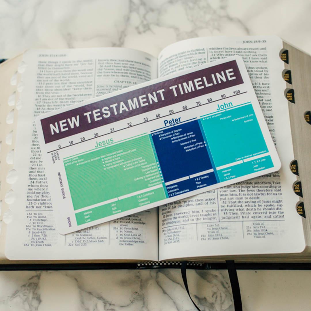 New Testament Timeline Bookmark - LDP-NTBKMKTMLN