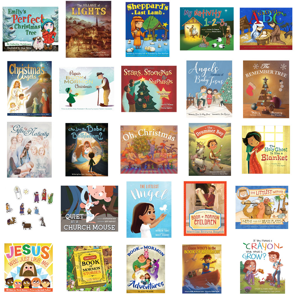 25 Days of Christmas Book Set