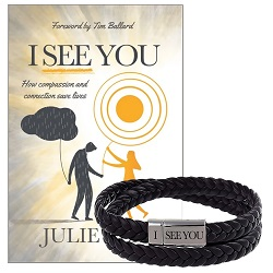 I See You w/ Bracelet Bundle i see you,compassion and connection,lds books,bookclub,book club,lds bookclub, lds book club