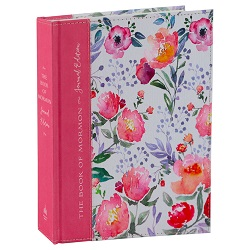 The Book of Mormon Journal Edition - Pink Floral book of mormon journal edition, book of mormon journal