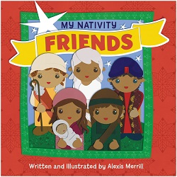 My nativity friends children's book