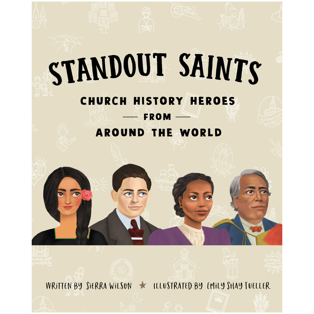 Book of standout saints and church history heroes from around the world