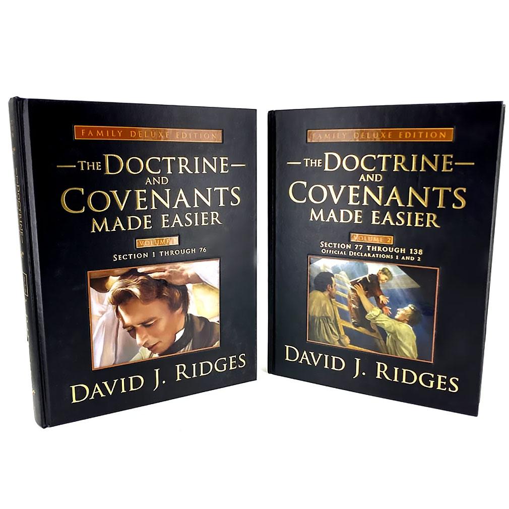 The Doctrine & Covenants Made Easier - Deluxe Full Set - CF-9781462110452
