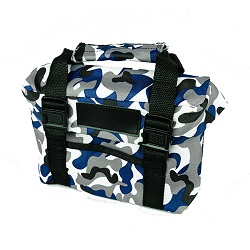 Blue Camo Scripture Case