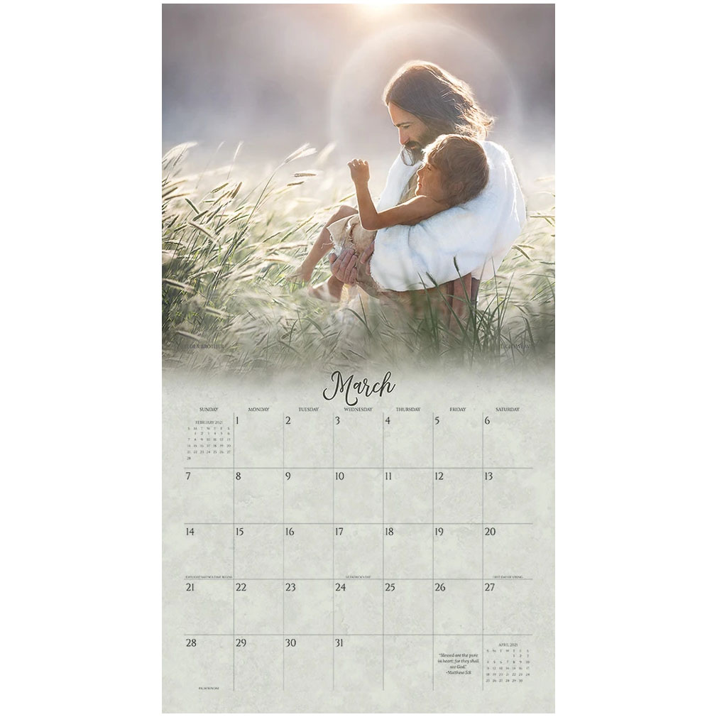 2021 Lightweave Calendar - Our Shepherd - AFA-LWCLA2021